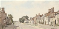 clare high street by leonard russel squirrell