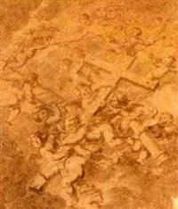 des anges portant les instruments de la passion by jean-baptiste corneille