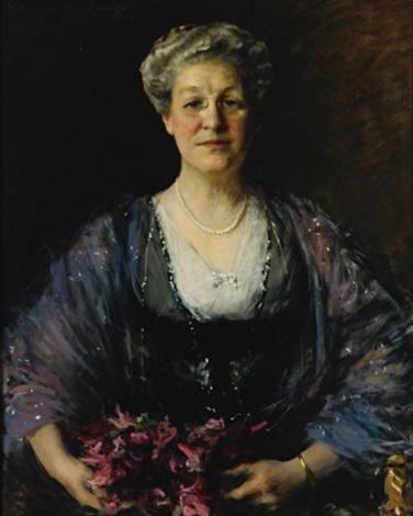 portrait of matilda herbert lloyd by william merritt chase