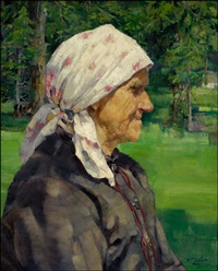 tyrolean woman by walter ufer