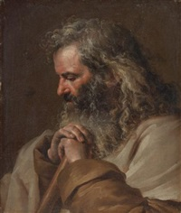 a male saint by jean-jacques de boissieu