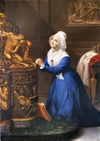 ritratto della venerabile maria clotilde di francia, regina di sardegna by bernardino nocchi