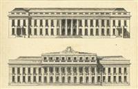 projet de château ou de grand hôtel by claude-nicolas ledoux