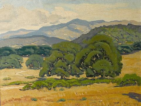 oak clad hills by arthur hill gilbert