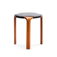 stool (model x 602) by alvar aalto