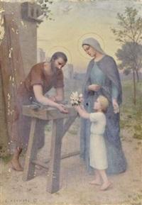 l'offrande à saint joseph by etienne azambre