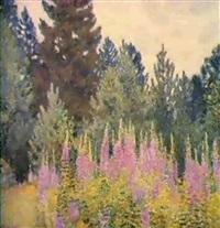 clariere fleurie by nikolai galakhov