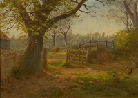 the afternoon sun by george thomas rope