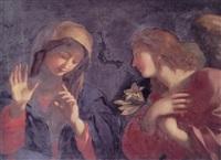 the annunciation by giovanni maria viani