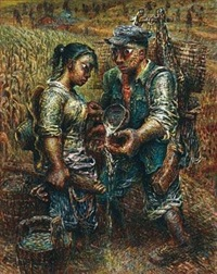 玉米地 by luo zhongli