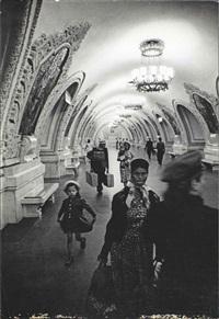 underground station, moscow by william klein