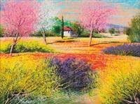 alberi fioriti by mario soave