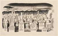 graveyard by charles addams