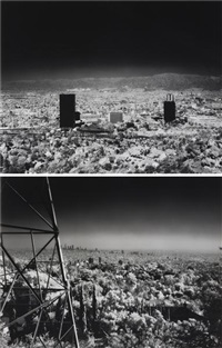 untitled (towards burbank) (+ untitled (towards los angeles); 2 works) by florian maier-aichen