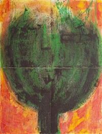 sans titre (quadriptych) by rahima el arroud