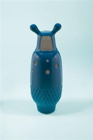 showtime vase 5 blue by jaime hayon