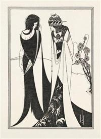 salome by oscar wilde (portfolio of 17) by aubrey vincent beardsley