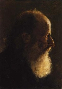 portrait of a man by symeon sabbides