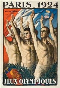 jeux olympiques, paris by jean droit