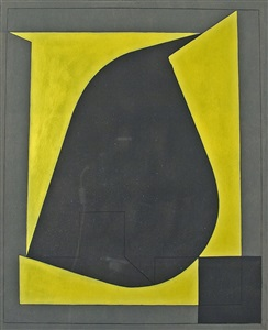 composition with a square by victor vasarely