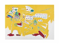 infantry by jean-michel basquiat