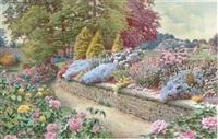 summer garden by colin newman