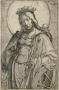 hl. katharina by lucas van leyden