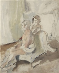margot et madeleine by jules pascin