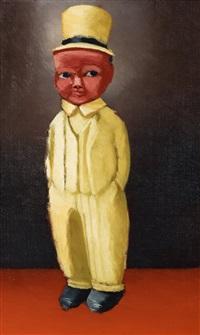 pojke med cylinder (boy in a top hat) by gunnar loberg