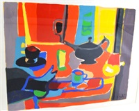 le thé by marcel mouly