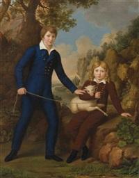 portrait de jeunes enfants by pietro nocchi