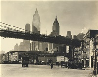 water front: south street by berenice abbott