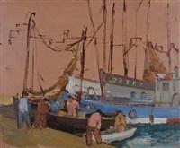 port de pêche by pierre abadie-landel