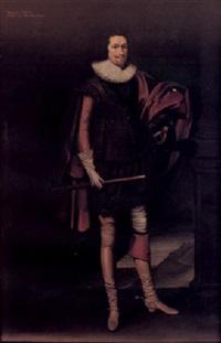 portrait of george villiers, duke of buckingham by balthazar gerbier d'ouvilly