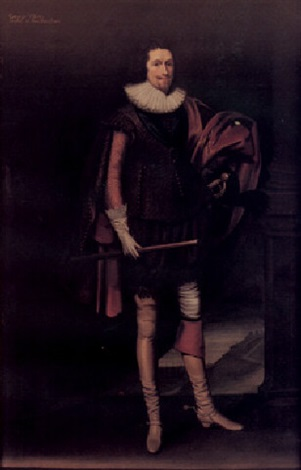 portrait of george villiers duke of buckingham by balthazar gerbier douvilly