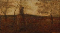 the lone horseman by albert pinkham ryder