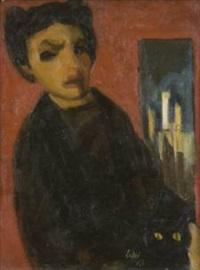 ritratto di anna maria ortese by raffaele lippi
