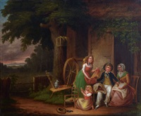 sailor's return by john lewis krimmel
