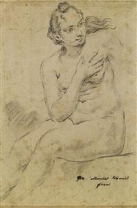 donna (study) by giovanni maria viani