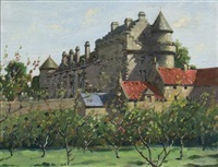 falkland palace by james gray