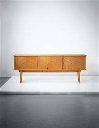 bahut, model no. 3, designed for 'l'equipement de la maison' series, grenoble by charlotte perriand & pierre jeanneret