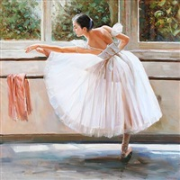 a ballet dancer by alexander akopov