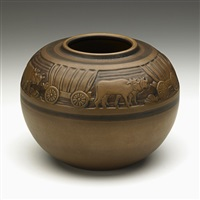 covered wagon vessel by margaret cable