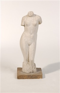 female torso (after pieter starreveld) by leonard johannes theodorus kamman