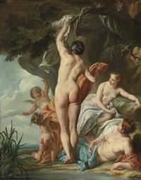 venus and her companions by noël nicolas coypel