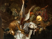 still life with hare by jan fyt