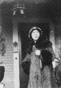 portrait of kiyoko m. yoshi by toyo miyatake