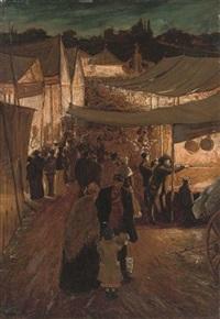 night market, fife by james macbeth