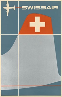 swissair by henry ott