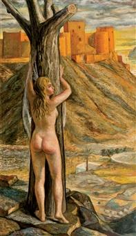 la alcazaba vista por detrás by jesus de perceval